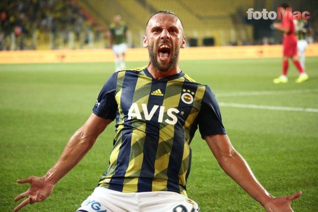 Fenerbahçe'de Vedat Muriç resital sundu sosyal medya yıkıldı!