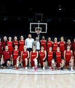 A Milli Kadın Basketbol Takımı İspanya'ya gitti
