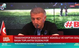 Ahmet Ağaoğlu: Trabzonspor dimdik ayaktadır