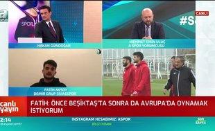 "Fatih Aksoy'dan flaş itiraf! ""Önce Beşiktaş'ta..."""
