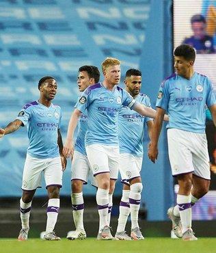 Manchester City prestij maçında şov yaptı!