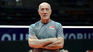 """A Milli Erkek Voleybol Takımı Başantrenörü Özbey: """"Avrupa'da yeniden şampiyon olmak istiyoruz"""""""