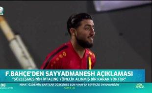 Fenerbahçe'den Sayyadmanesh açıklaması