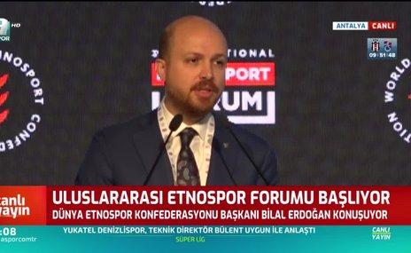 Bilal Erdoğan: Geleneksel sporlarımız içinde felsefe barındırıyor