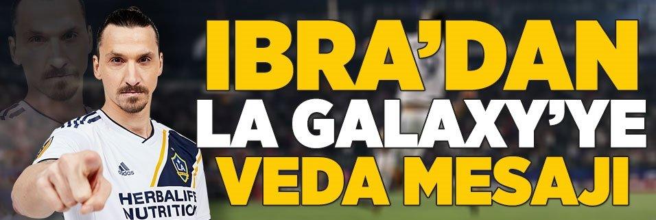 Ibrahimovic'ten LA Galaxy'e veda mesajı!