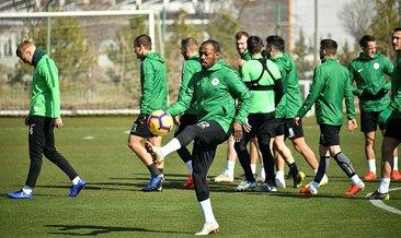 Atiker Konyaspor Göztepe maçına hazır