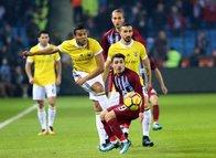Trabzonspor-Fenerbahçe karşılaşmasından kareler