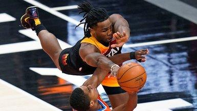 NBA'de Ersan İlyasova'lı Utah Jazz evinde Oklahoma'yı mağlup etti