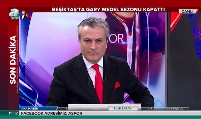 Beşiktaş'ta şok sakatlık! Gary Medel sezonu kapattı