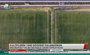 Futbolun kalbi Erzurum'da atacak