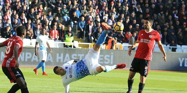 Trabzonspor ile Sivasspor 24. randevuda