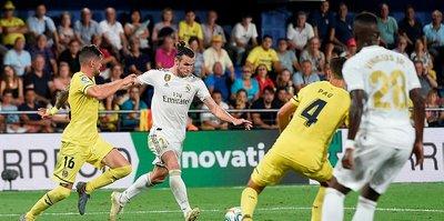Real Madrid Villarreal deplasmanından 1 puan aldı
