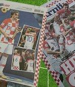 Hırvatistan'ın dünya ikinciliği ülke basınında