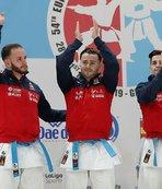 Karate Milli Takımı'ndan Avrupa'da tam kadro madalya sevinci