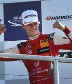 Schumacher'in oğlu F3 Avrupa şampiyonu