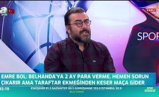 Emre Bol'dan Abdurrahim Albayrak ve Fatih Terim'e sert sözler