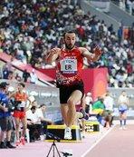Necati Er'den üç adım atlamada tarihi başarı