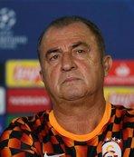 Galatasaray'da Fatih Terim maç öncesi konuştu: Gülesim geliyor