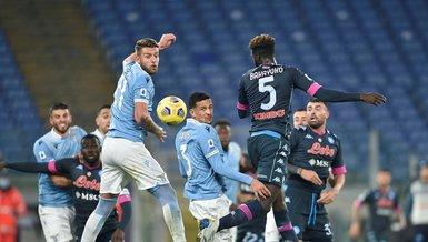 Lazio Napoli: 2-0 (MAÇ SONUCU - ÖZET)