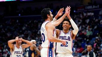 Furkan Korkmaz coştu Philadelphia fark attı!
