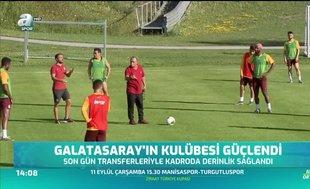 Galatasaray'ın kulübesi güçlendi