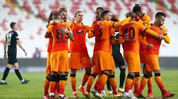 Galatasaray'dan şampiyonluk yürüyüşü! Moraller yerinde #
