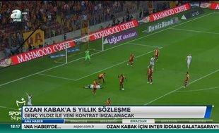 Ozan Kabak'a 5 yıllık sözleşme