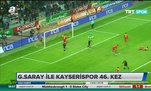 Galatasaray ile Kayserispor 46. kez