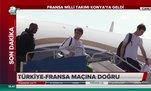 Fransa Milli Takımı Konya'ya geldi