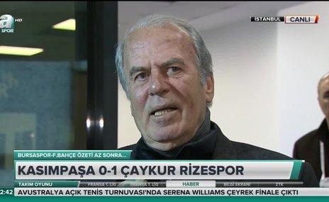 """Mustafa Denizli: """"Pozisyonları iyi değerlendiremedik"""""""