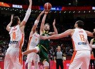 2019 FIBA Dünya Kupası İspanya - Avustralya maçından kareler