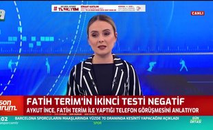 Fatih Terim'in 2. corona virüsü testi sonucu negatif çıktı