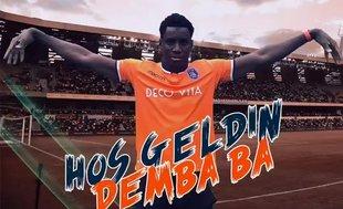 Başakşehir Demba Ba'yı bu video ile duyurdu