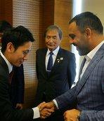 Hamza Yerlikaya, Japonya'dan gelen heyeti kabul etti