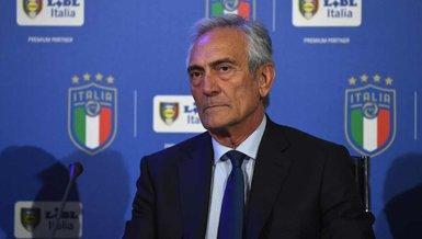 İtalya Futbol Federasyonu Başkanı Gravina: Liglerin iptali ölüm olur