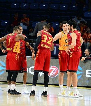 Galatasaray Odeabank Avrupa'da galip