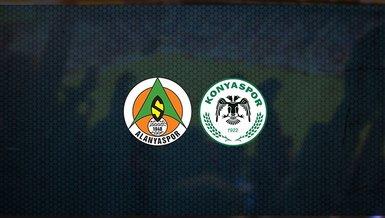 Alanyaspor - Konyaspor maçı ne zaman, saat kaçta ve hangi kanalda canlı yayınlanacak? | Süper Lig