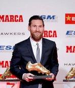 """Messi """"Altın Ayakkabı"""" ödülünü aldı"""