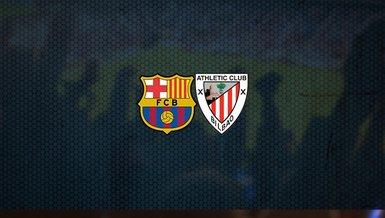 Barcelona - Athletic Bilbao maçı ne zaman? Saat kaçta? Hangi kanalda canlı yayınlanacak?