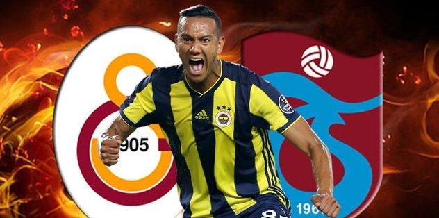 Trabzonspor ve Galatasaray'ın gündemindeki Josef de Souza'dan transfer açıklaması
