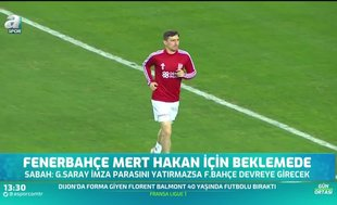 Fenerbahçe Mert Hakan Yandaş için beklemede