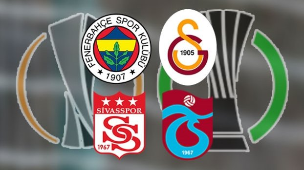 Avrupa'da büyük gün! Fenerbahçe ve Galatasaray eşleşebilir