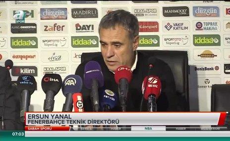 """Ersun Yanal: """"Fenerbahçe yüzünü yarına çevirmeli"""""""