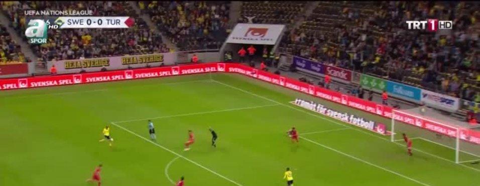 İşte İsveç - Türkiye maçının geniş özeti