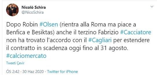 besiktasa transfer mujdesi robin olsen adim adim geliyor 1593518731759 - Beşiktaş'a transfer müjdesi! Robin Olsen adım adım geliyor