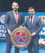 Bakan Albayrak: Gönülden Trabzonsporluyuz