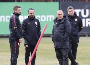 Galatasaray Boluspor maçı hazırlıklarını sürdürdü