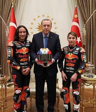 Başkan Erdoğan Can Öncü'yü kabul etti!