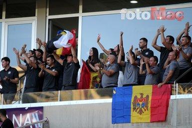 Sivasspor taraftarları takımlarını Petrocub maçında yalnız bırakmadı!