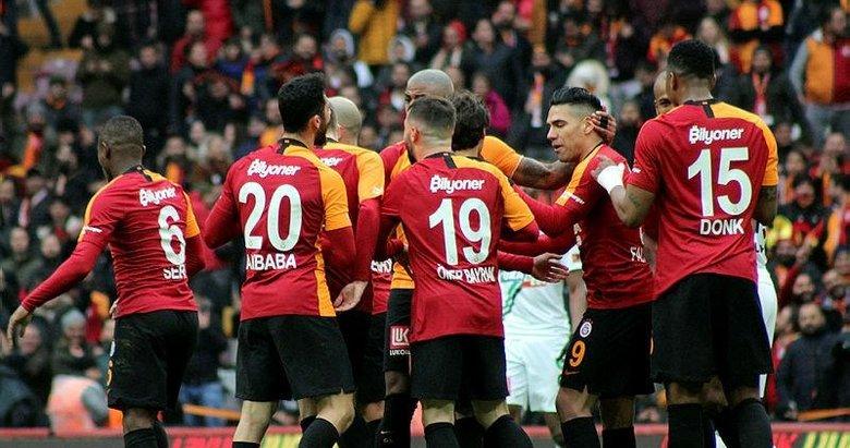 İşte Galatasaray-Denizlispor maçından kareler!